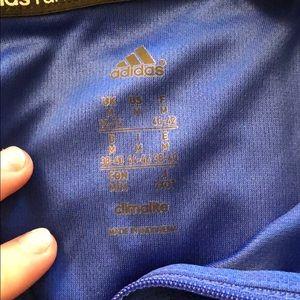 adidas Jackets & Coats - Blue Adidas Running jacket, size medium